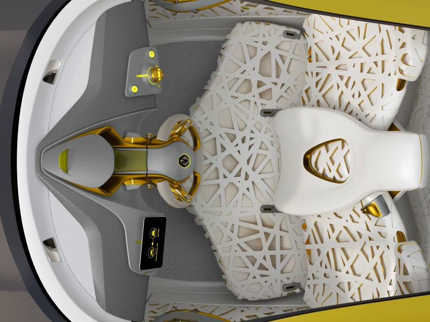 Renault Kwid concept debuts with 'Flying Companion' Image #226436