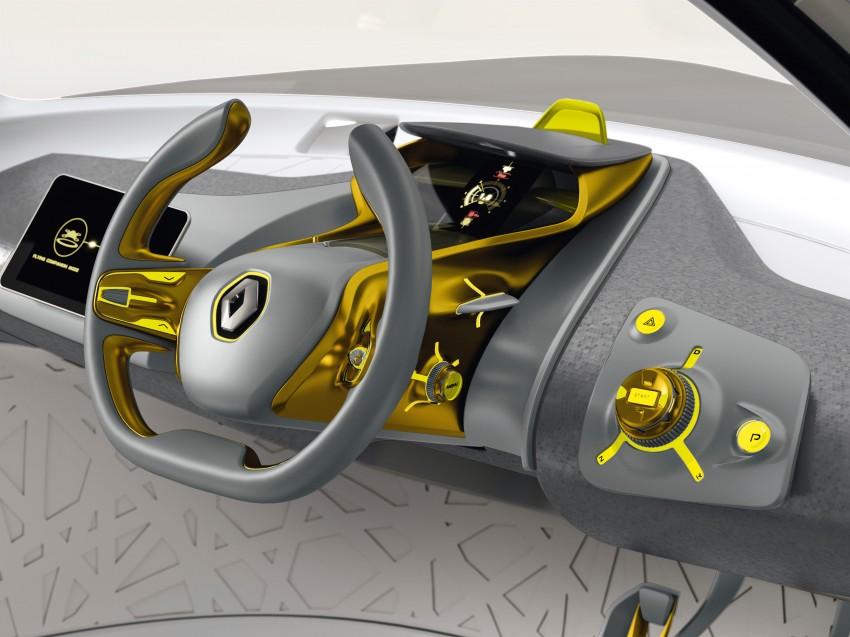 Renault Kwid concept debuts with 'Flying Companion' Image #226440