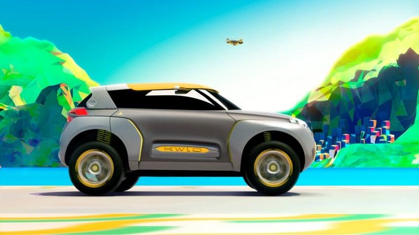 Renault Kwid concept debuts with 'Flying Companion' Image #226423