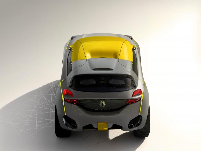 Renault Kwid concept debuts with 'Flying Companion' Image #226426