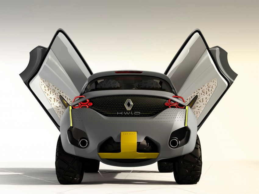 Renault Kwid concept debuts with 'Flying Companion' Image #226427