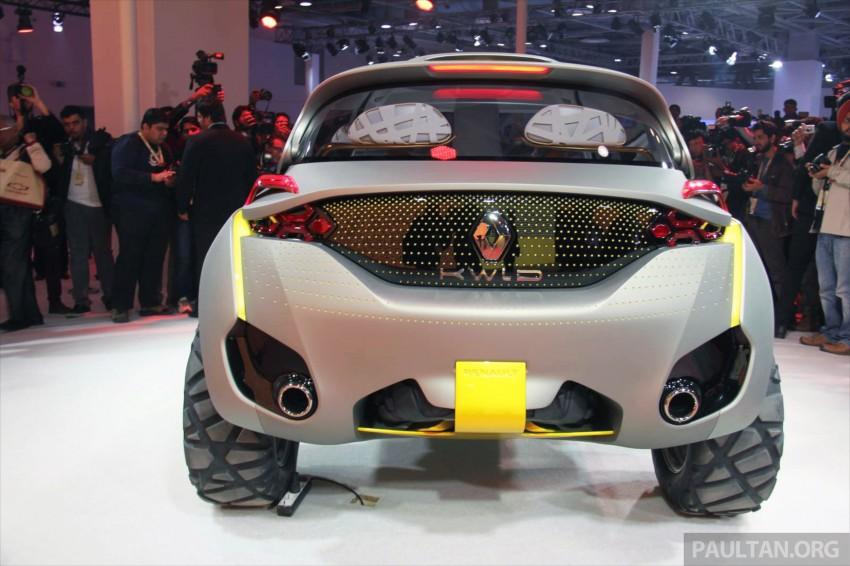Renault Kwid concept debuts with 'Flying Companion' Image #226481