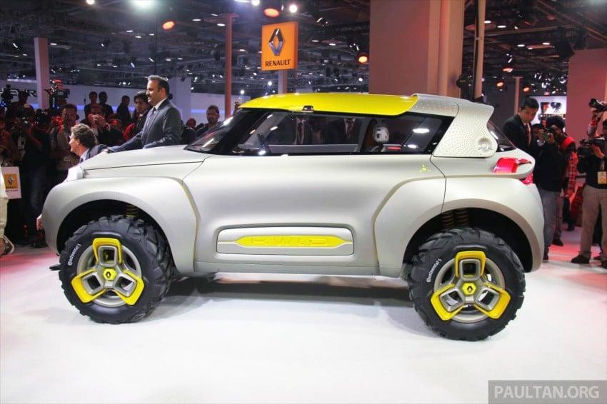 Renault Kwid concept debuts with 'Flying Companion' Image #226482