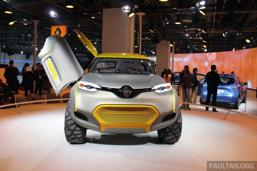 Renault Kwid concept debuts with 'Flying Companion' Image #226483