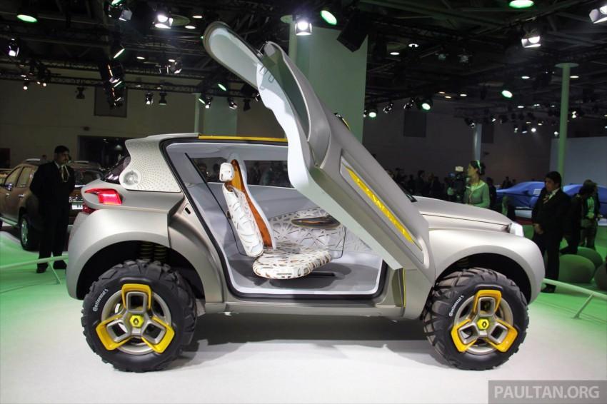 Renault Kwid concept debuts with 'Flying Companion' Image #226488