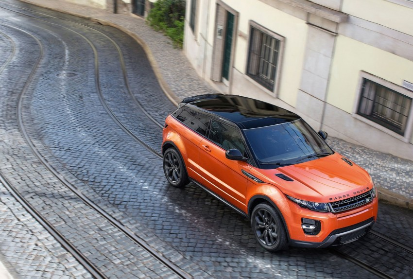 Range Rover Evoque Autobiography Dynamic – more power, sportier chassis for the new range-topper Image #232084