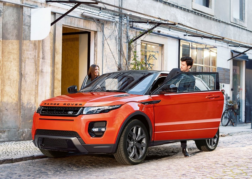 Range Rover Evoque Autobiography Dynamic – more power, sportier chassis for the new range-topper Image #232087