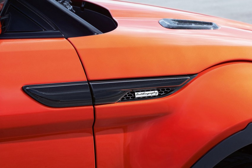 Range Rover Evoque Autobiography Dynamic – more power, sportier chassis for the new range-topper Image #232088