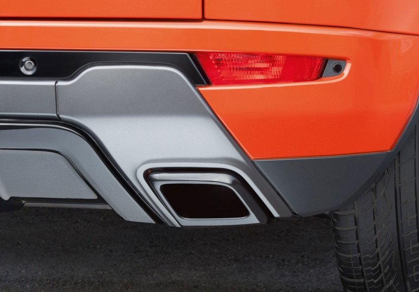 Range Rover Evoque Autobiography Dynamic – more power, sportier chassis for the new range-topper Image #232089
