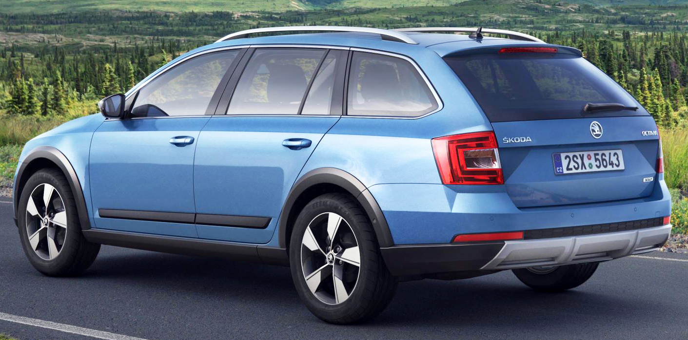 skoda octavia scout to bow at geneva show. Black Bedroom Furniture Sets. Home Design Ideas
