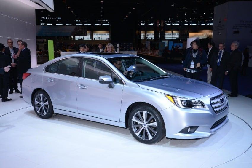 2015 Subaru Legacy debuts in Chicago – full details Image #227687