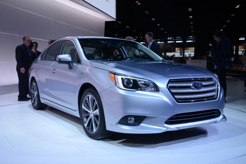 2015 Subaru Legacy debuts in Chicago – full details Image #227688