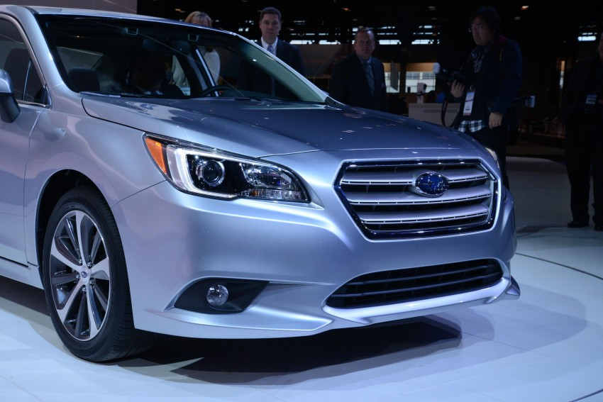 2015 Subaru Legacy debuts in Chicago – full details Image #227689
