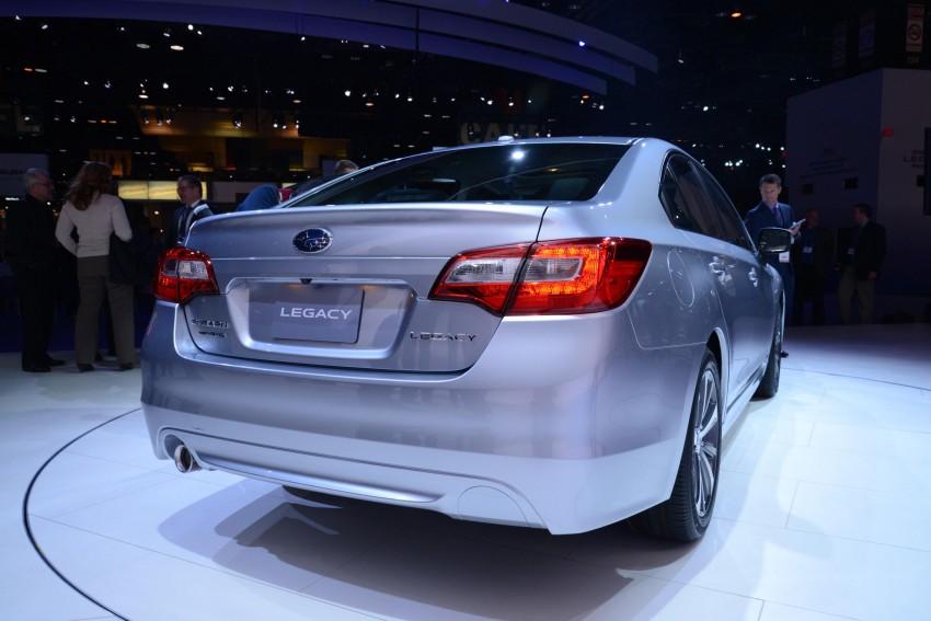 2015 Subaru Legacy debuts in Chicago – full details Image #227691