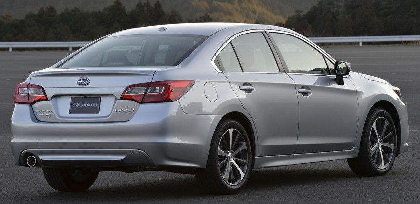 2015 Subaru Legacy debuts in Chicago – full details Image #227296
