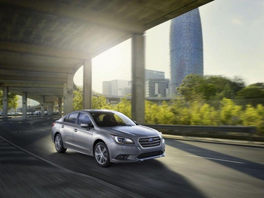 2015 Subaru Legacy debuts in Chicago – full details Image #227297