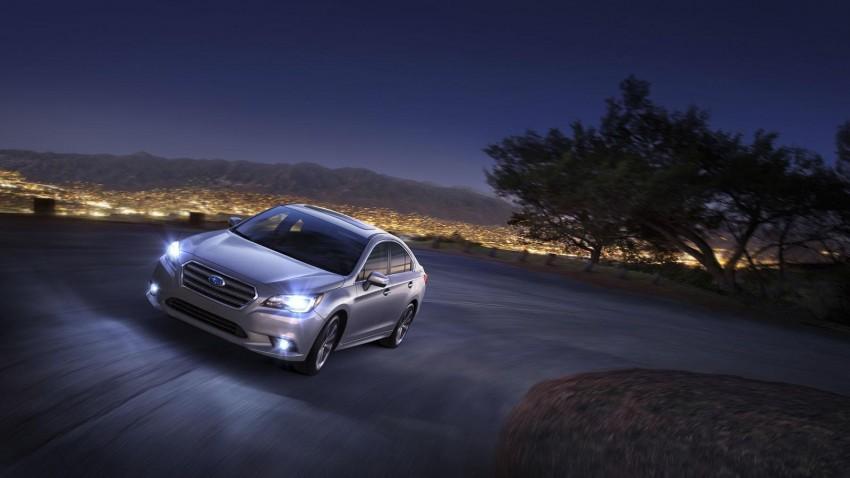 2015 Subaru Legacy debuts in Chicago – full details Image #227298