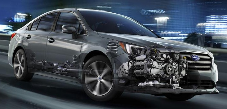 2015 Subaru Legacy debuts in Chicago – full details Image #227301