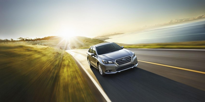 2015 Subaru Legacy debuts in Chicago – full details Image #227303