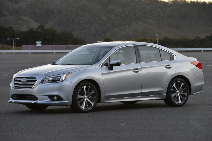 2015 Subaru Legacy debuts in Chicago – full details Image #227304