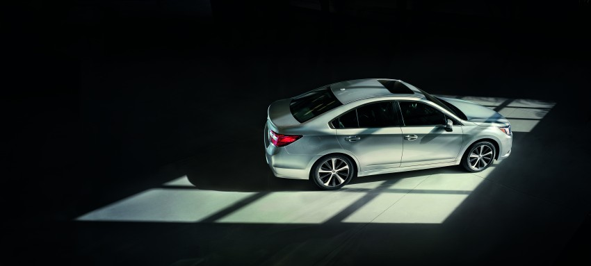 2015 Subaru Legacy debuts in Chicago – full details Image #227306