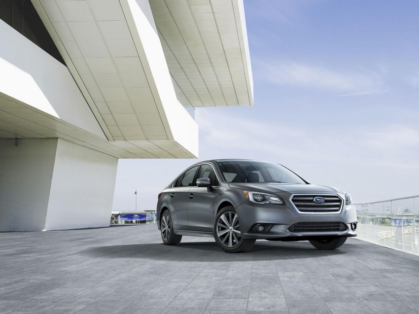 2015 Subaru Legacy debuts in Chicago – full details Image #227292