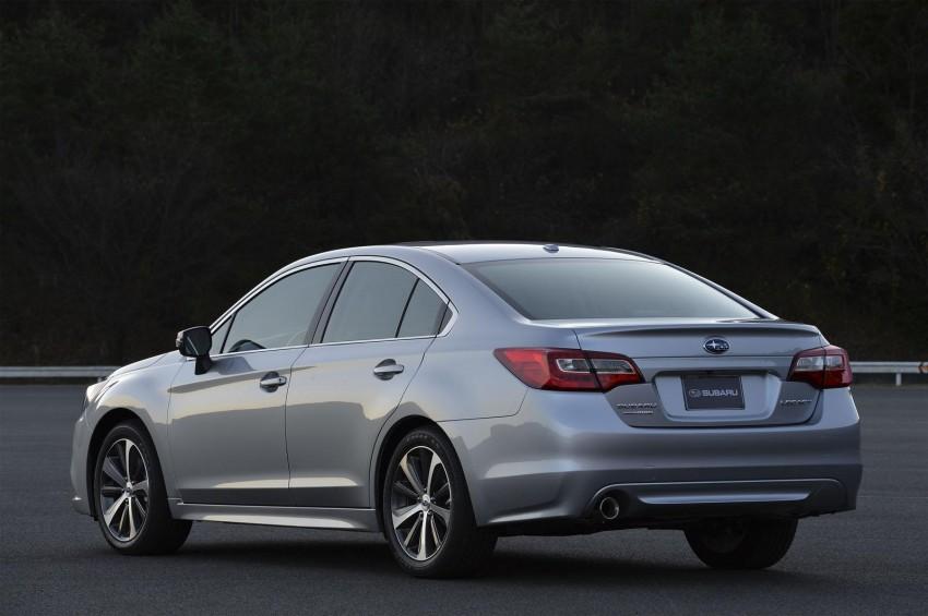 2015 Subaru Legacy debuts in Chicago – full details Image #227293