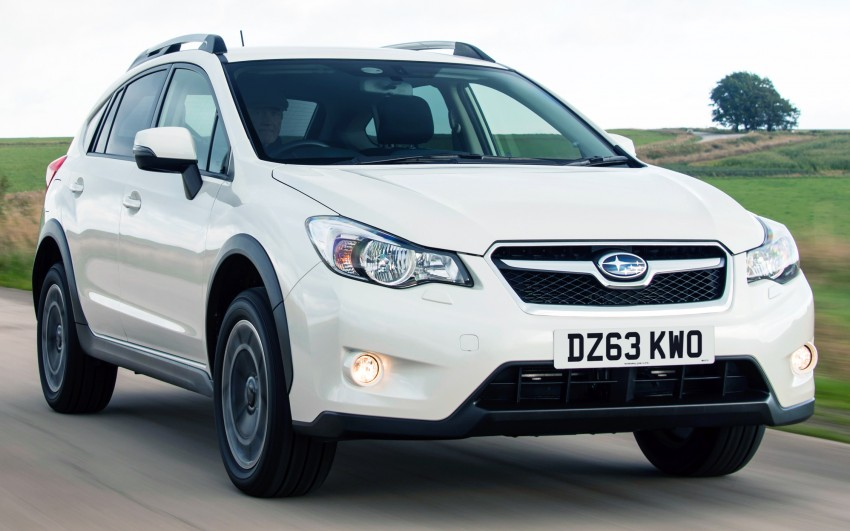 Subaru XV – UK models get improvements for 2014 Image #227622