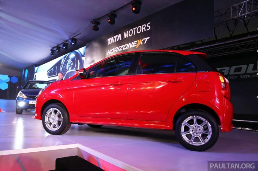Tata Bolt debuts in Delhi – hatchback version of Zest Image #225816