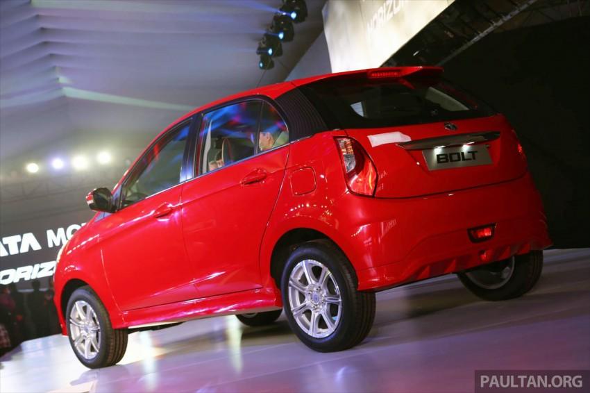 Tata Bolt debuts in Delhi – hatchback version of Zest Image #225817