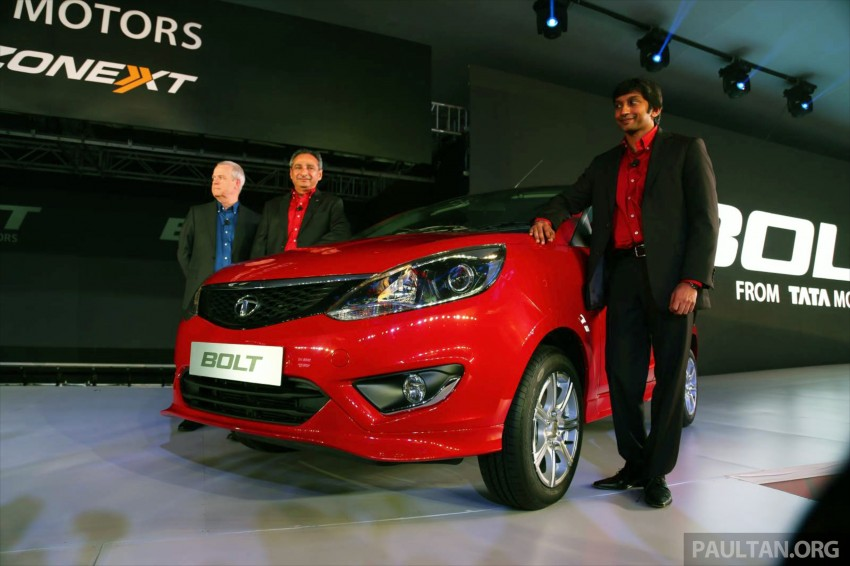 Tata Bolt debuts in Delhi – hatchback version of Zest Image #225818