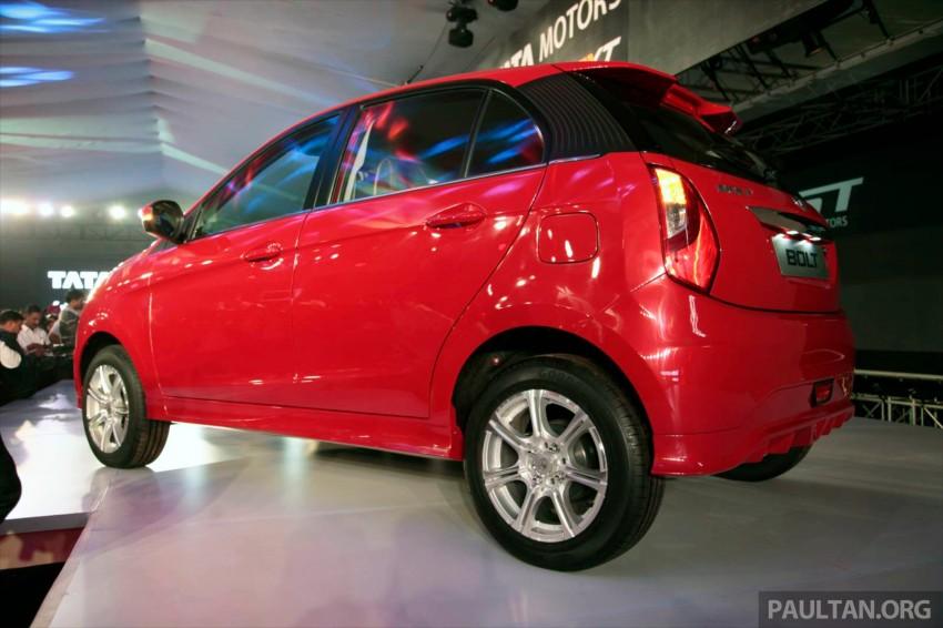 Tata Bolt debuts in Delhi – hatchback version of Zest Image #225821