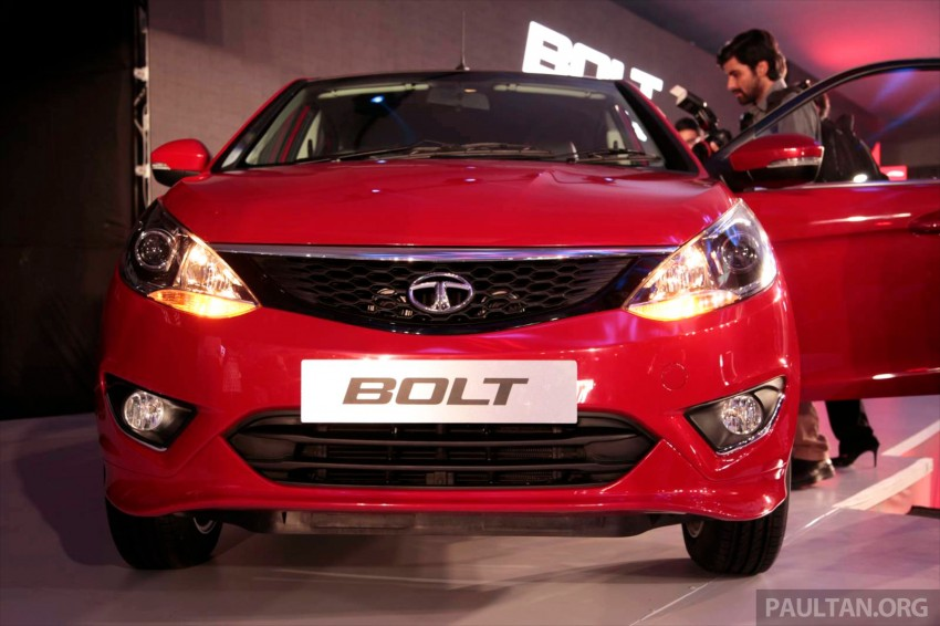 Tata Bolt debuts in Delhi – hatchback version of Zest Image #225823