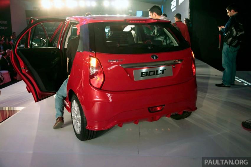 Tata Bolt debuts in Delhi – hatchback version of Zest Image #225827