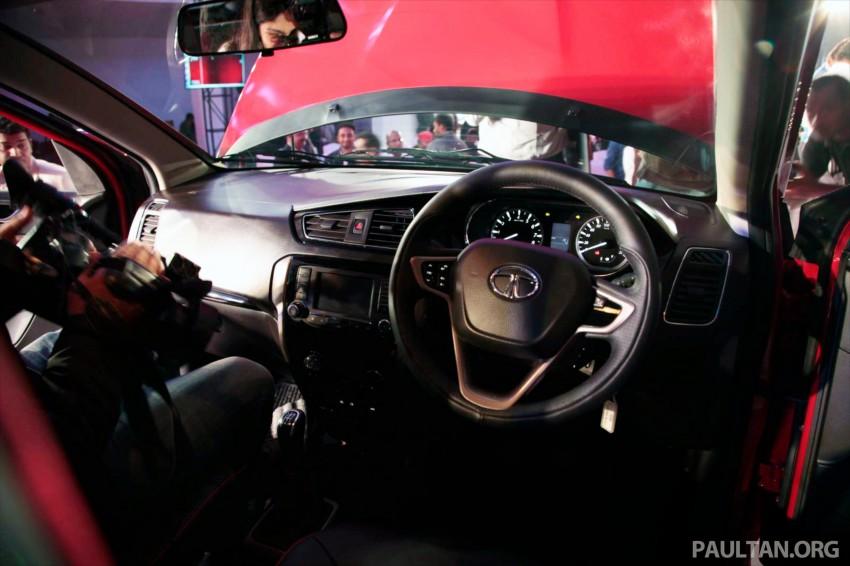 Tata Bolt debuts in Delhi – hatchback version of Zest Image #225831