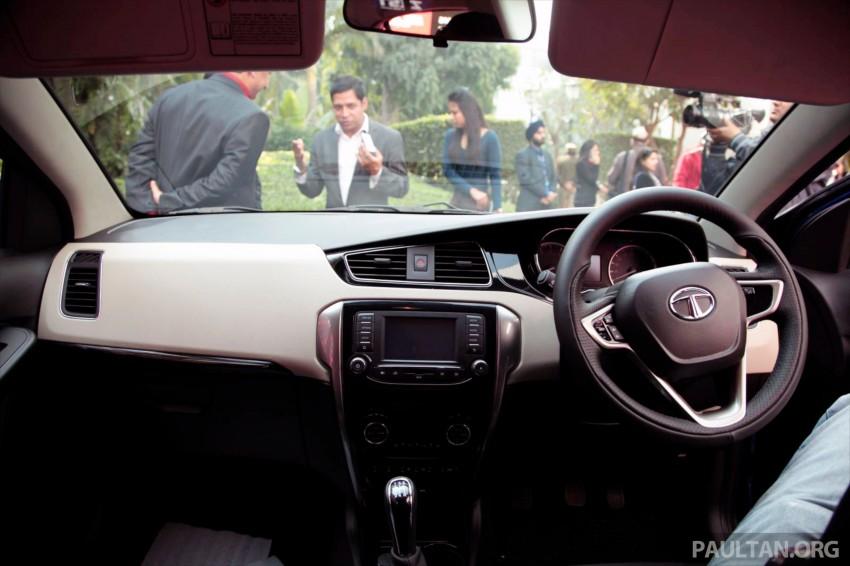 Tata Bolt debuts in Delhi – hatchback version of Zest Image #225835
