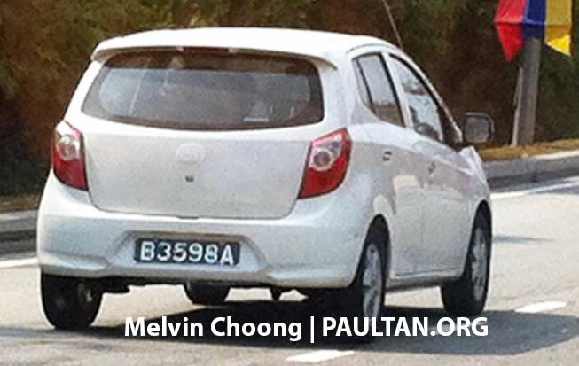 Toyota Agya/Daihatsu Ayla spotted in Malaysia! Image #227452
