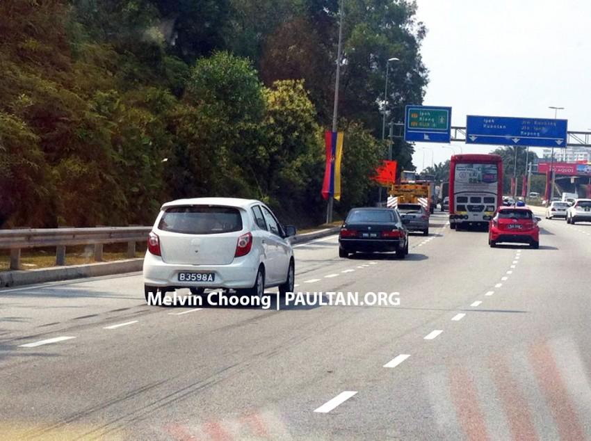 Toyota Agya/Daihatsu Ayla spotted in Malaysia! Image #227455