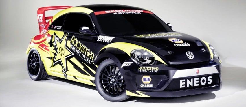 Volkswagen Rallycross Beetle has over 560 hp! Image #227702