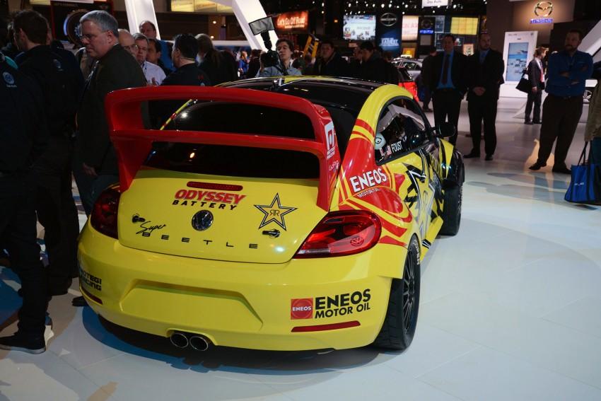Volkswagen Rallycross Beetle has over 560 hp! Image #227873
