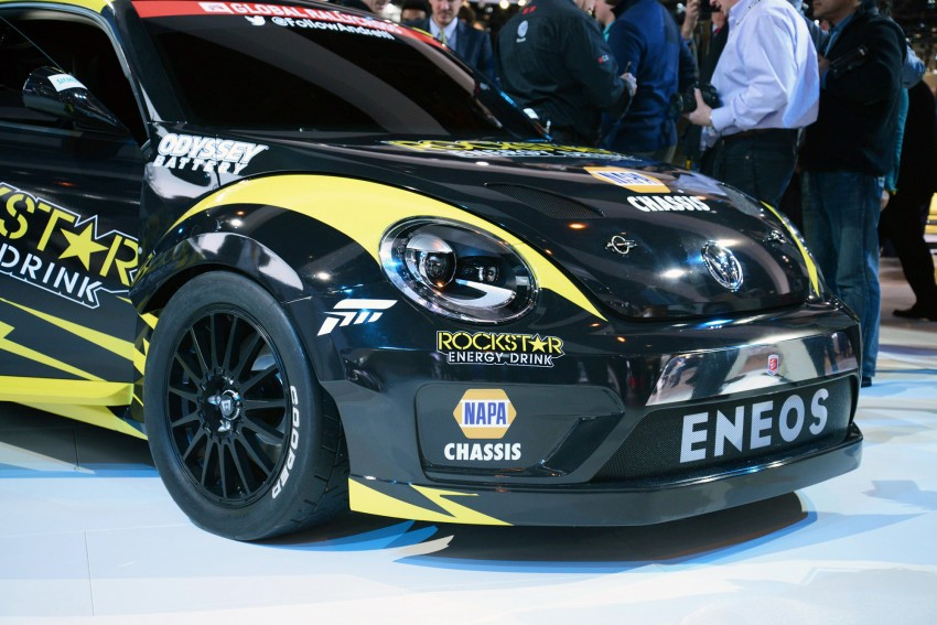 Volkswagen Rallycross Beetle has over 560 hp! Image #227875