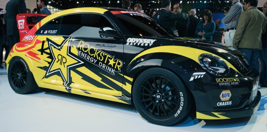 Volkswagen Rallycross Beetle has over 560 hp! Image #227876