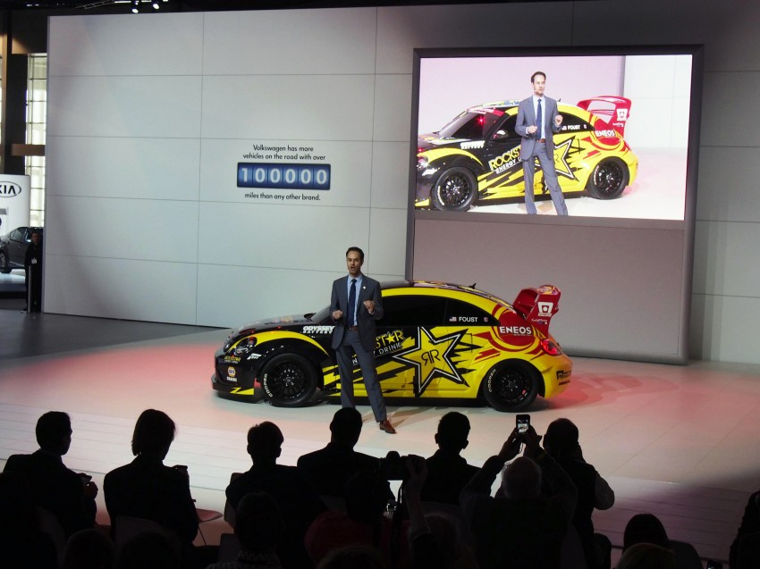 Volkswagen Rallycross Beetle has over 560 hp! Image #227871