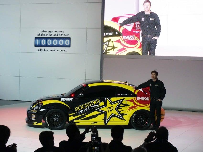 Volkswagen Rallycross Beetle has over 560 hp! Image #227872