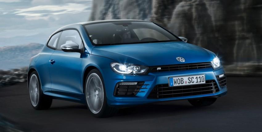 Volkswagen Scirocco – third-gen gets a facelift Image #228730