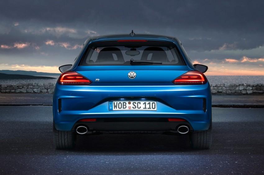 Volkswagen Scirocco – third-gen gets a facelift Image #228745