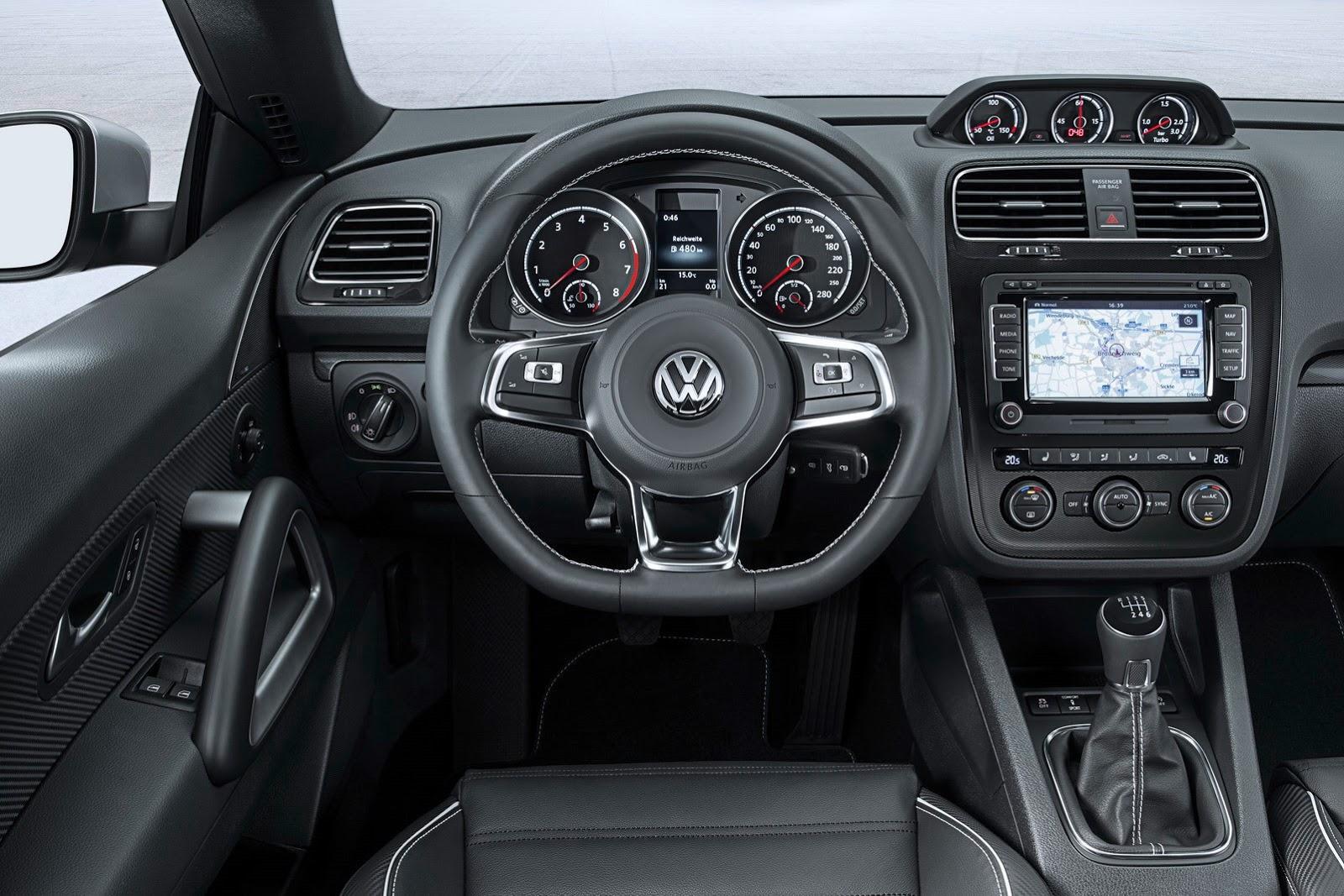 Volkswagen Scirocco   third-gen gets a facelift