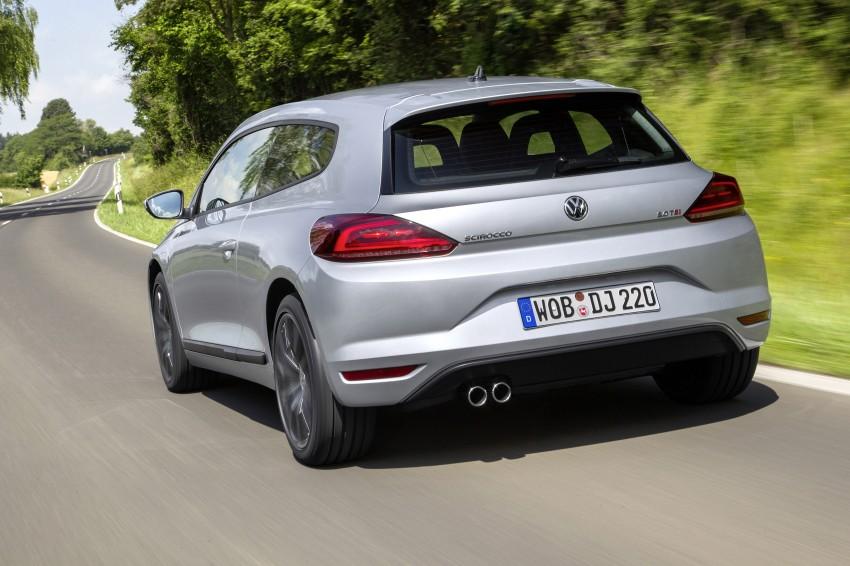 Volkswagen Scirocco – third-gen gets a facelift Image #272168