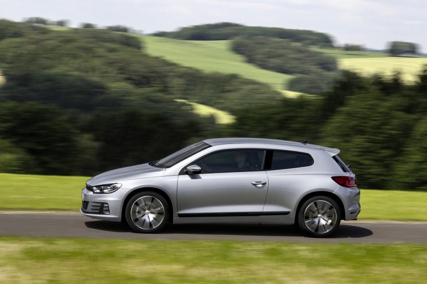 Volkswagen Scirocco – third-gen gets a facelift Image #272172