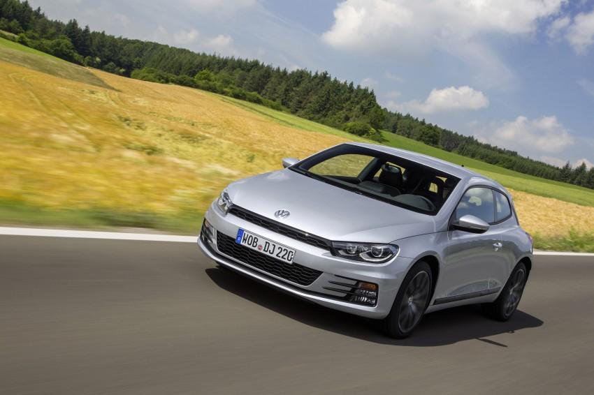 Volkswagen Scirocco – third-gen gets a facelift Image #272174